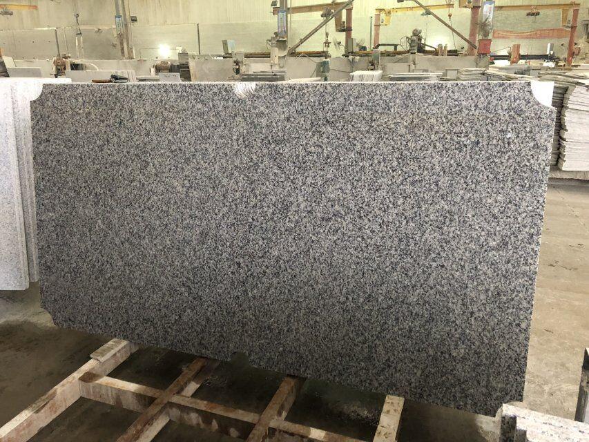 White grey granite pool table