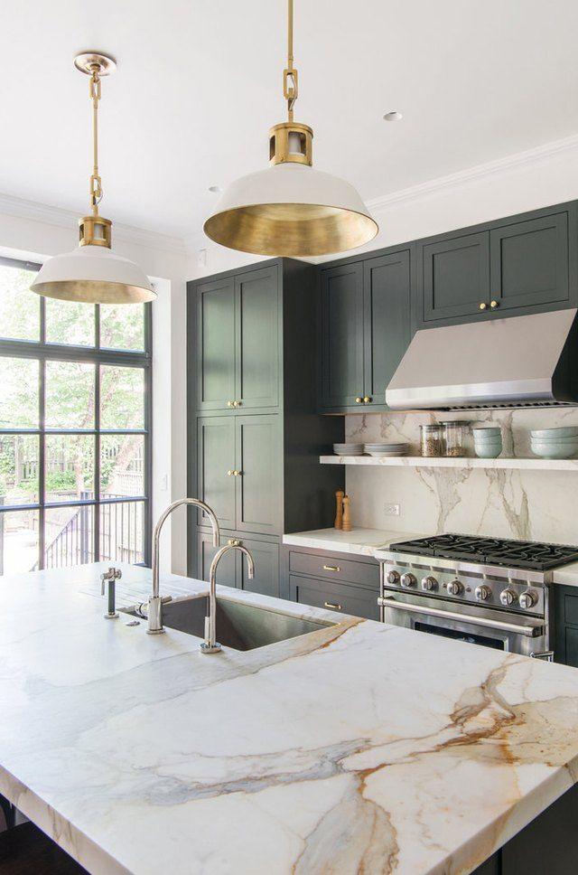 Calacatta Golden Marble Kithch Countertop