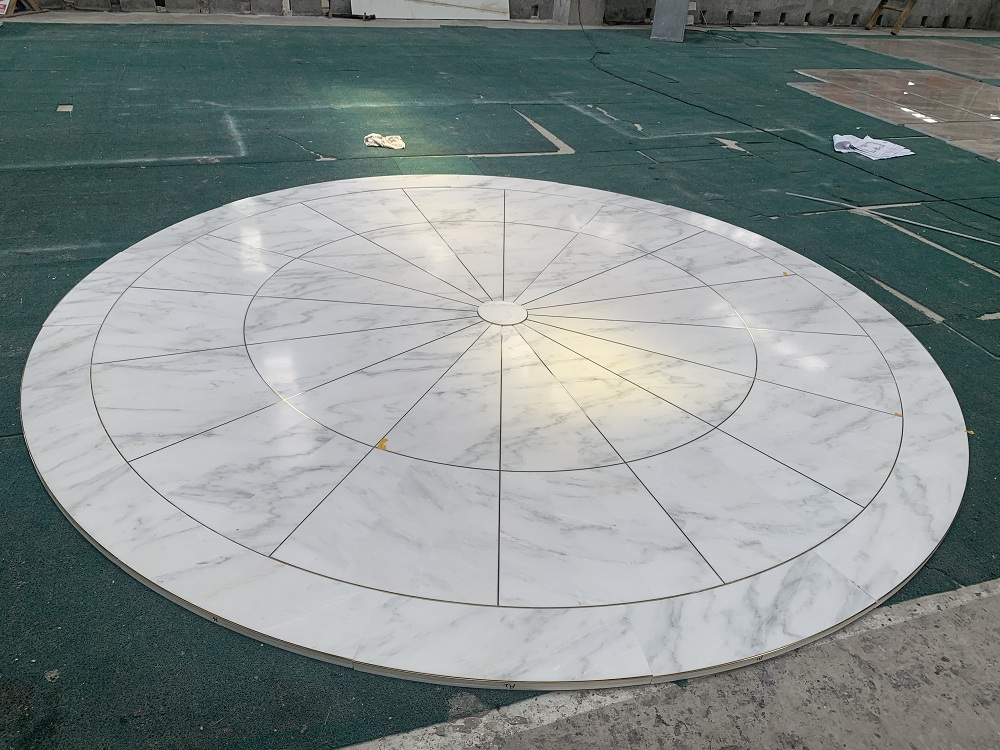 White marble pattern