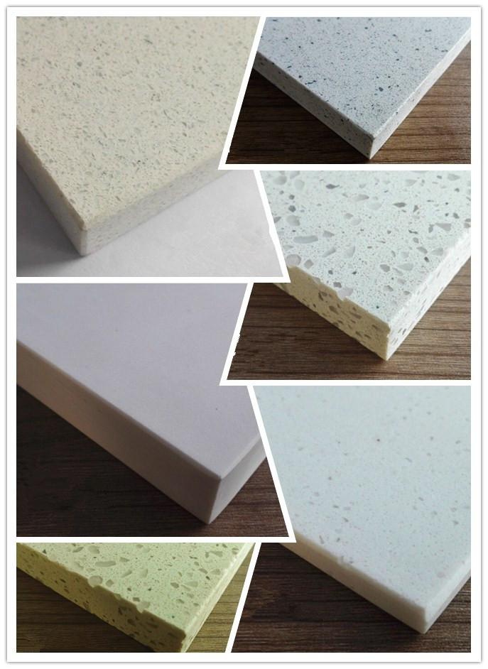White quartz stone of variety style