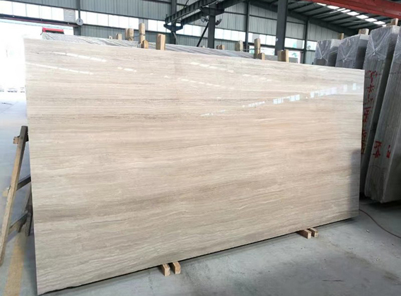 White Wood Vein Marble White Wood Grain Marble White SerpeggianteGrain HaisaWooden Grain MarbleTilesCut To Size