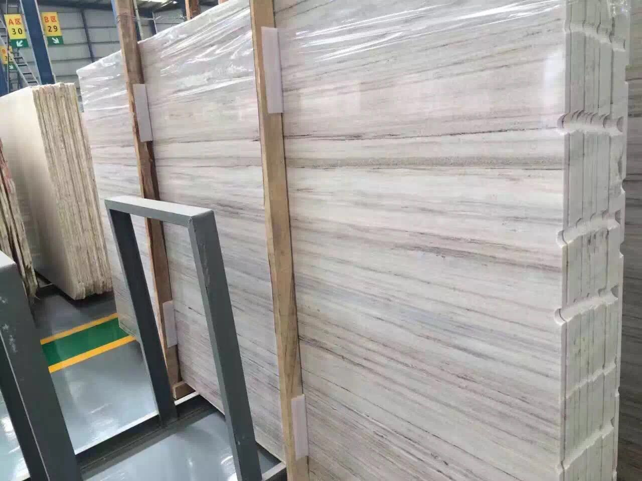 Wooden Marble White gold sand