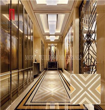 Foshan porcelain tile material New design floor marble tile