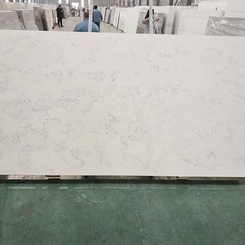 Artificial type carrara white quartz slabs China