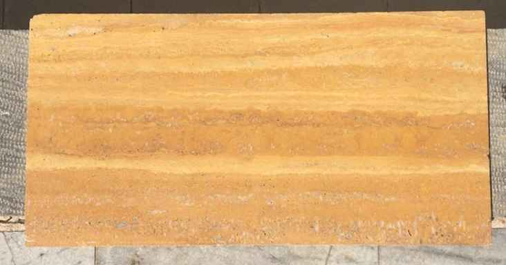 Yellow Vein Cut Travertine Tile