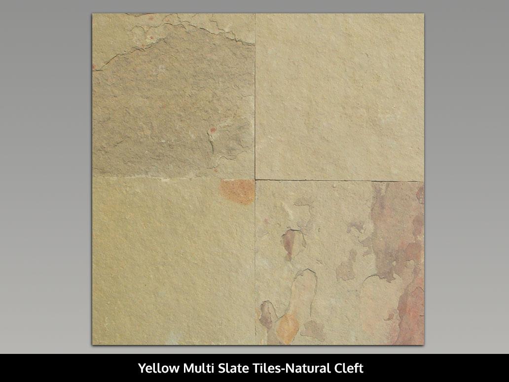 Yellow Multi Slate