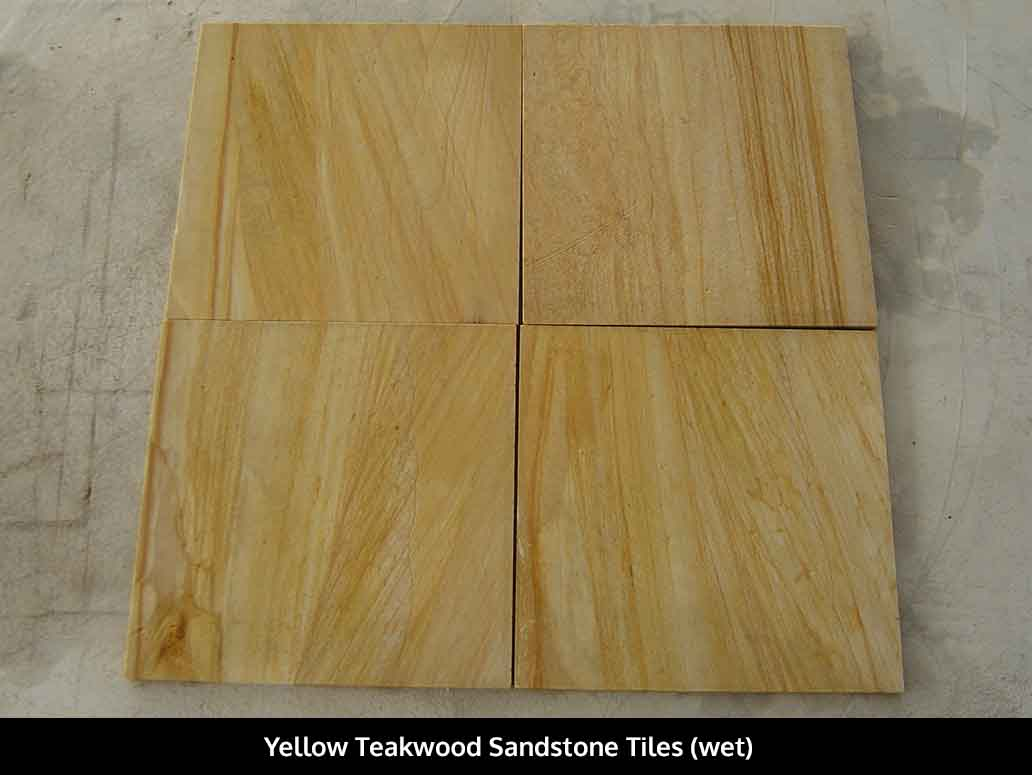 Yellow Teakwood Sandstone