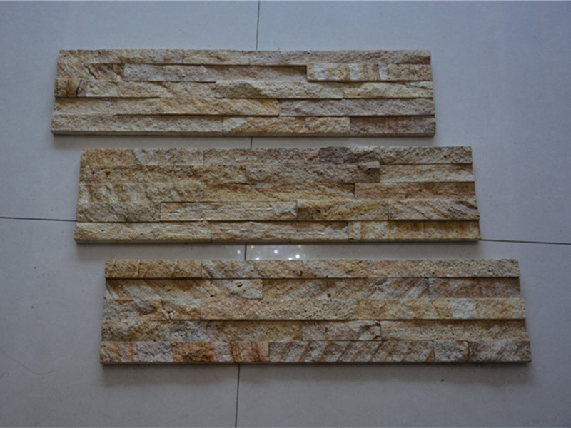 Yellow Sandstone Stacked Stone Veneer