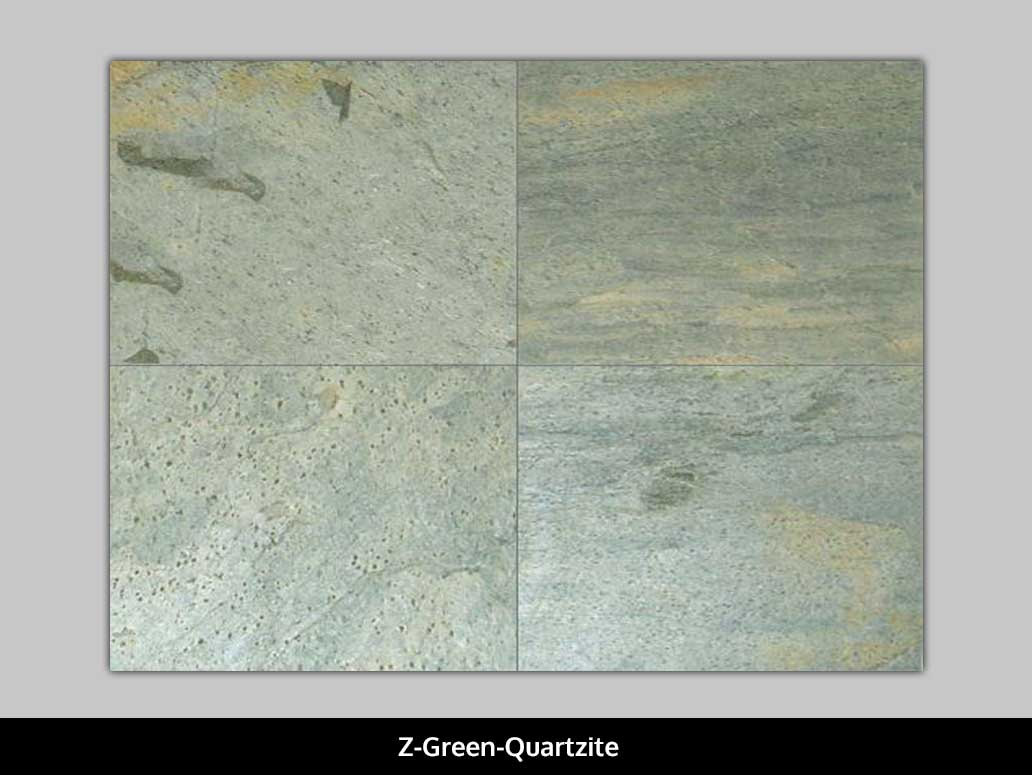 Z Green Quartzite Tiles
