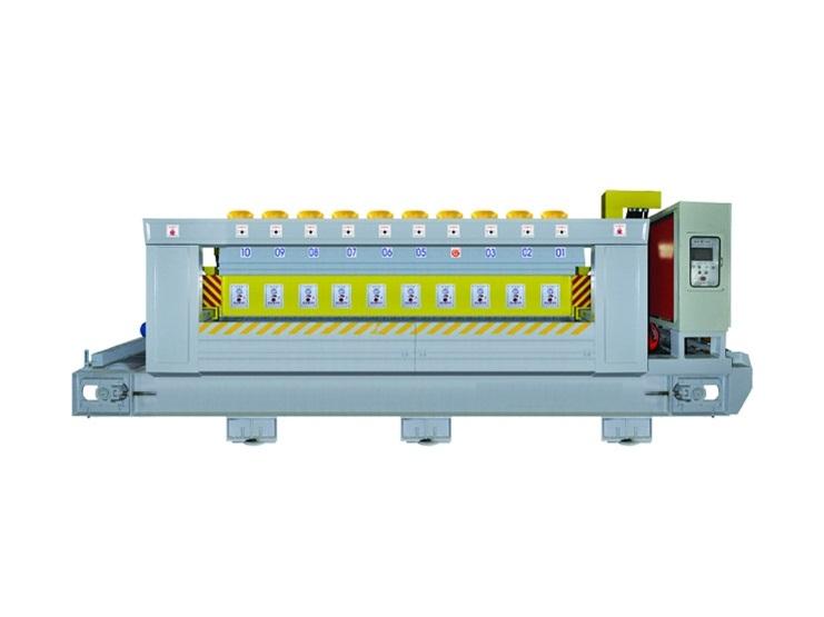 ZDMJ 10C Granite Automatic Polishing Machine For Slat