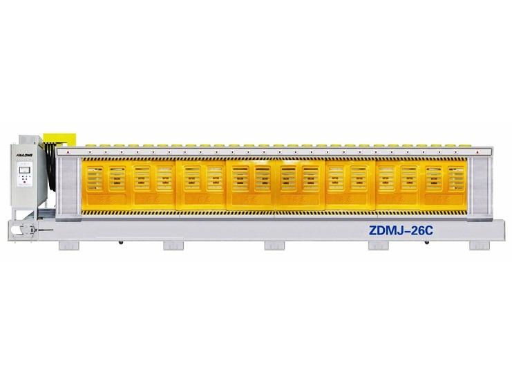 ZDMJ 26C Granite Automatic Polishing Machine For Slat