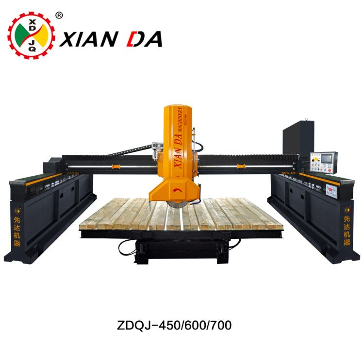 Infrared stone bridge cutting machine