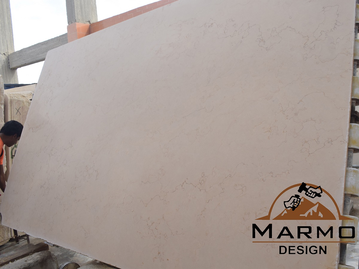 Zafarana Cream Marble Slabs