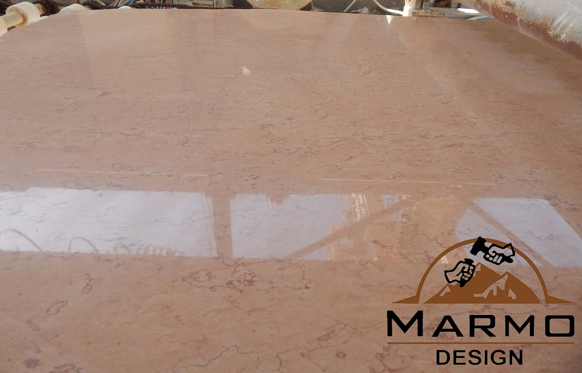 Zafarana Pink Polished Marble Slabs