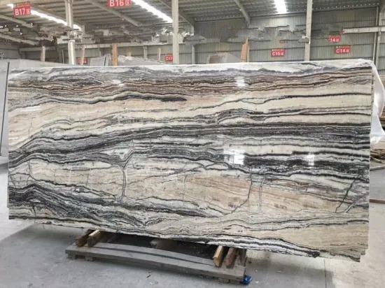China Zebra Jade Slab For Decoration