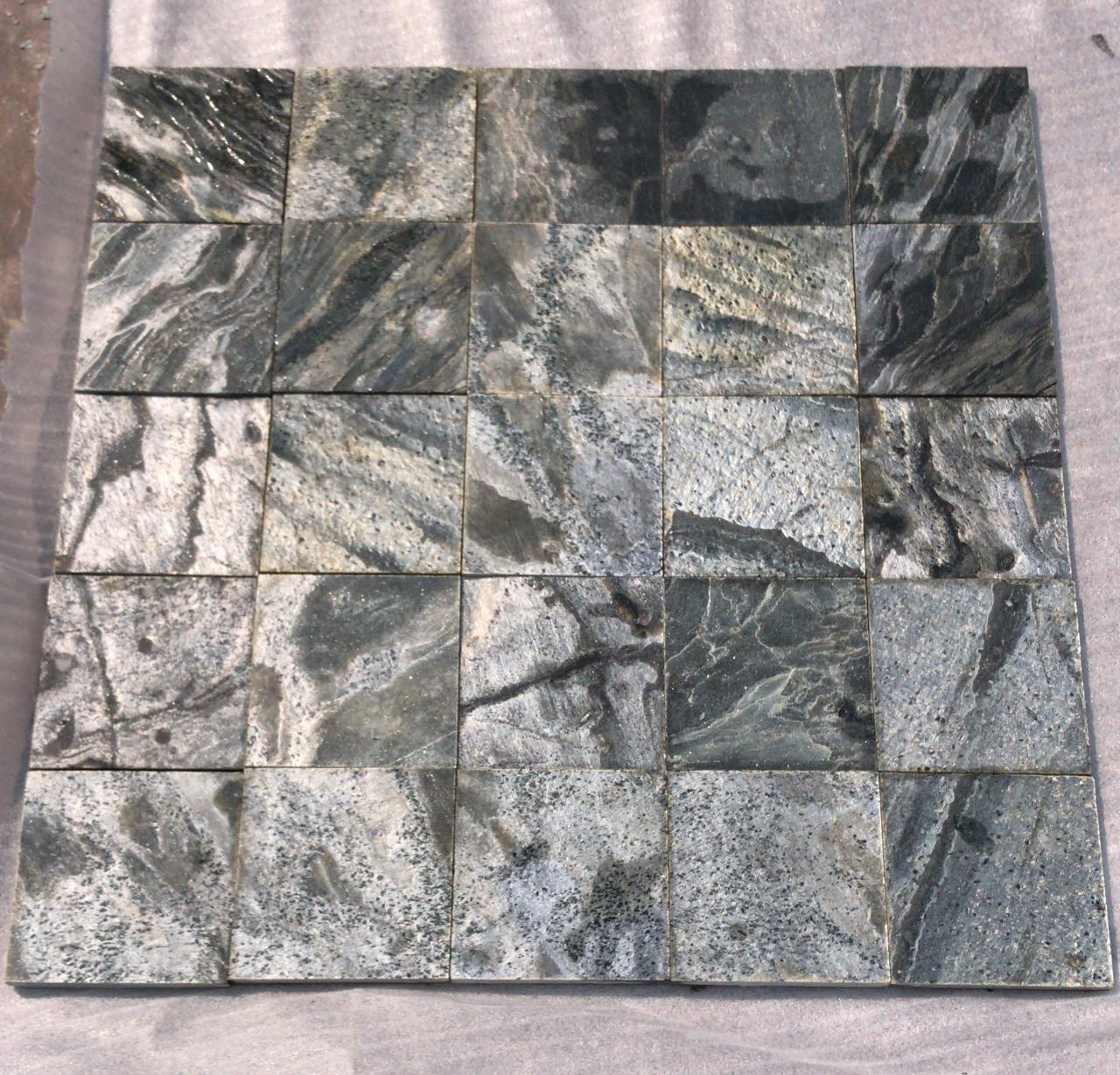 Zeera Green - Polished - 100x100 mm Tiles