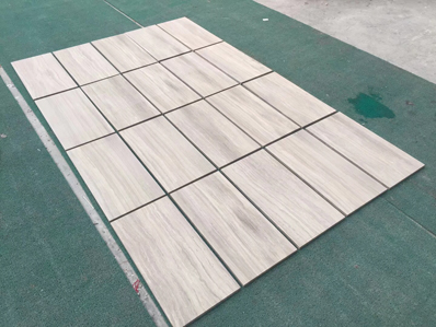 White Wood Vein Marble White Wood Grain Marble White Serpeggiante SlabFlooring Tile Cut to Size