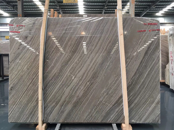 Kylin Wood Vein Marble Big Slabs Kylin Wooden Grain Marble