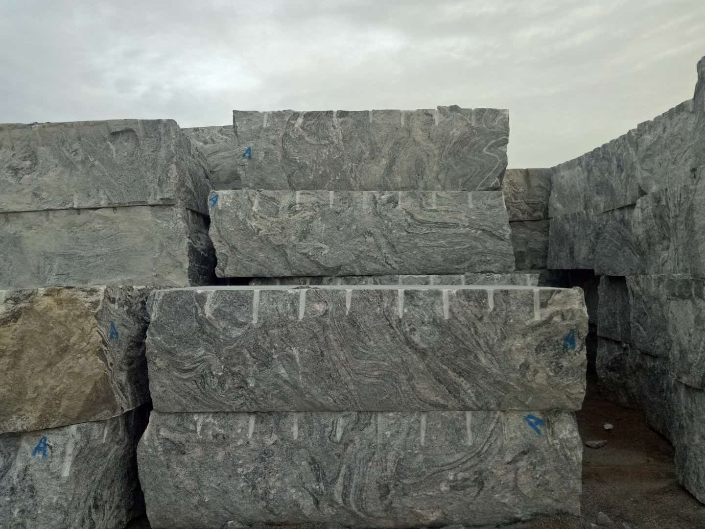 Quarry Owner Supply Juparana Granite  Blocks