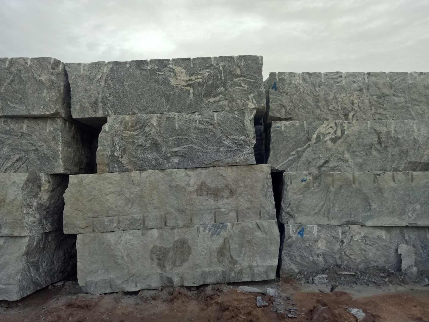 Chinese Juparana Granite Blocks Slabs