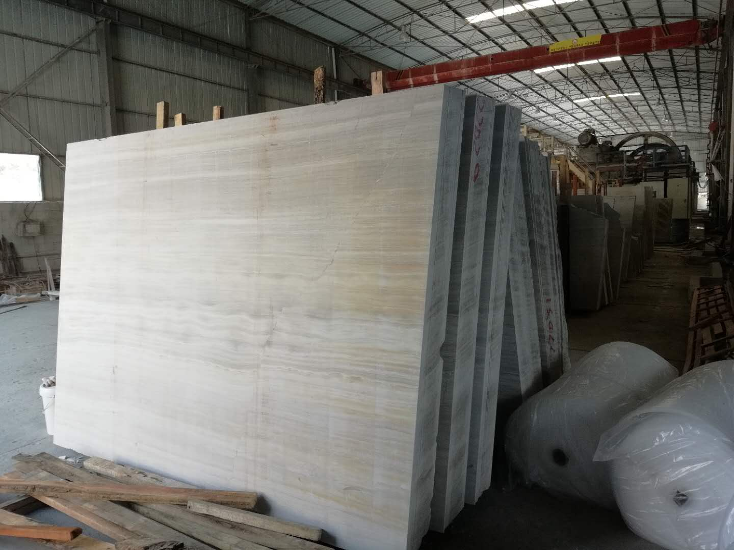Chinese Grey Wooden Grain Marble