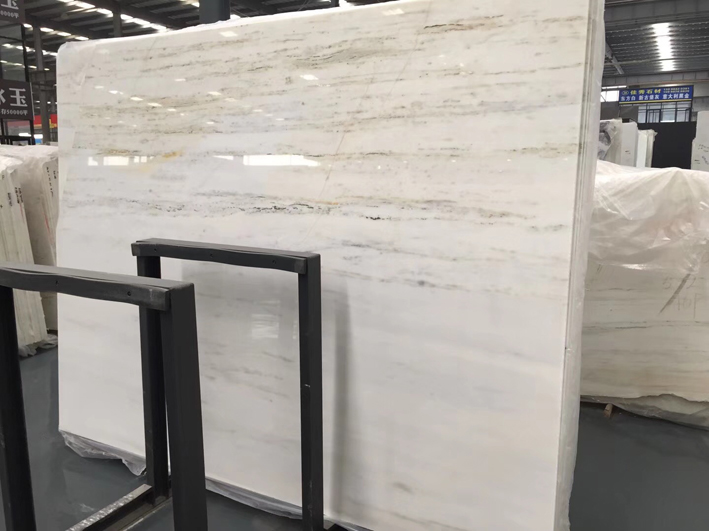 Royal Jasper Marble White Marble With Grey Vein