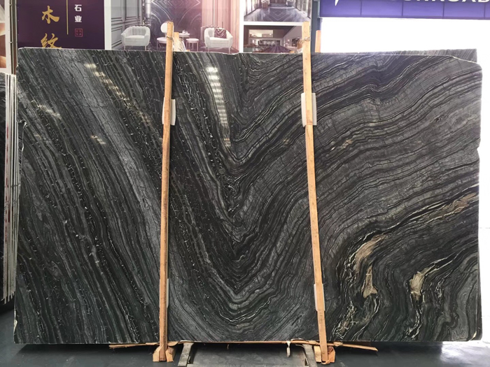 Black Forest  Silver Wave Marble  Kenya Marble