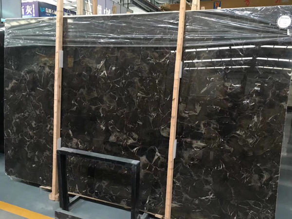 Chinese Emperador Marble Slab