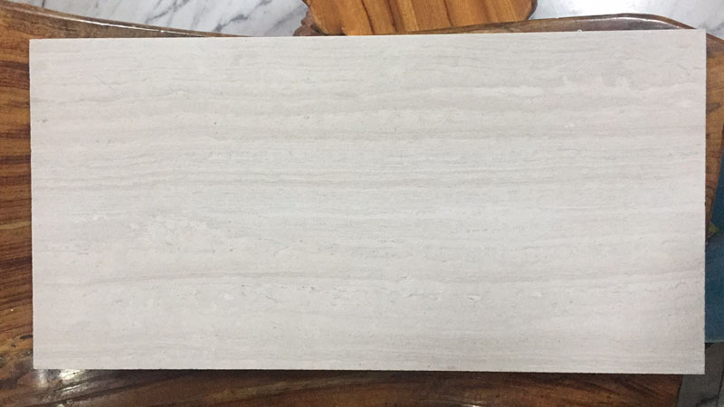 White Wood Marble Tile Wooden White Haisa light