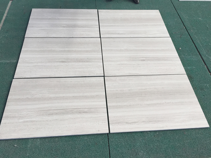 White Wood Marble Tile Wooden White Marble