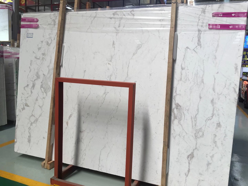 Greece Volokas White Marble  Jazz White Marble Slab