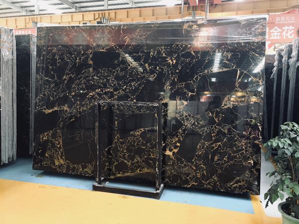 Athens Portoro Marble Slab  China Portoro Gold Marble