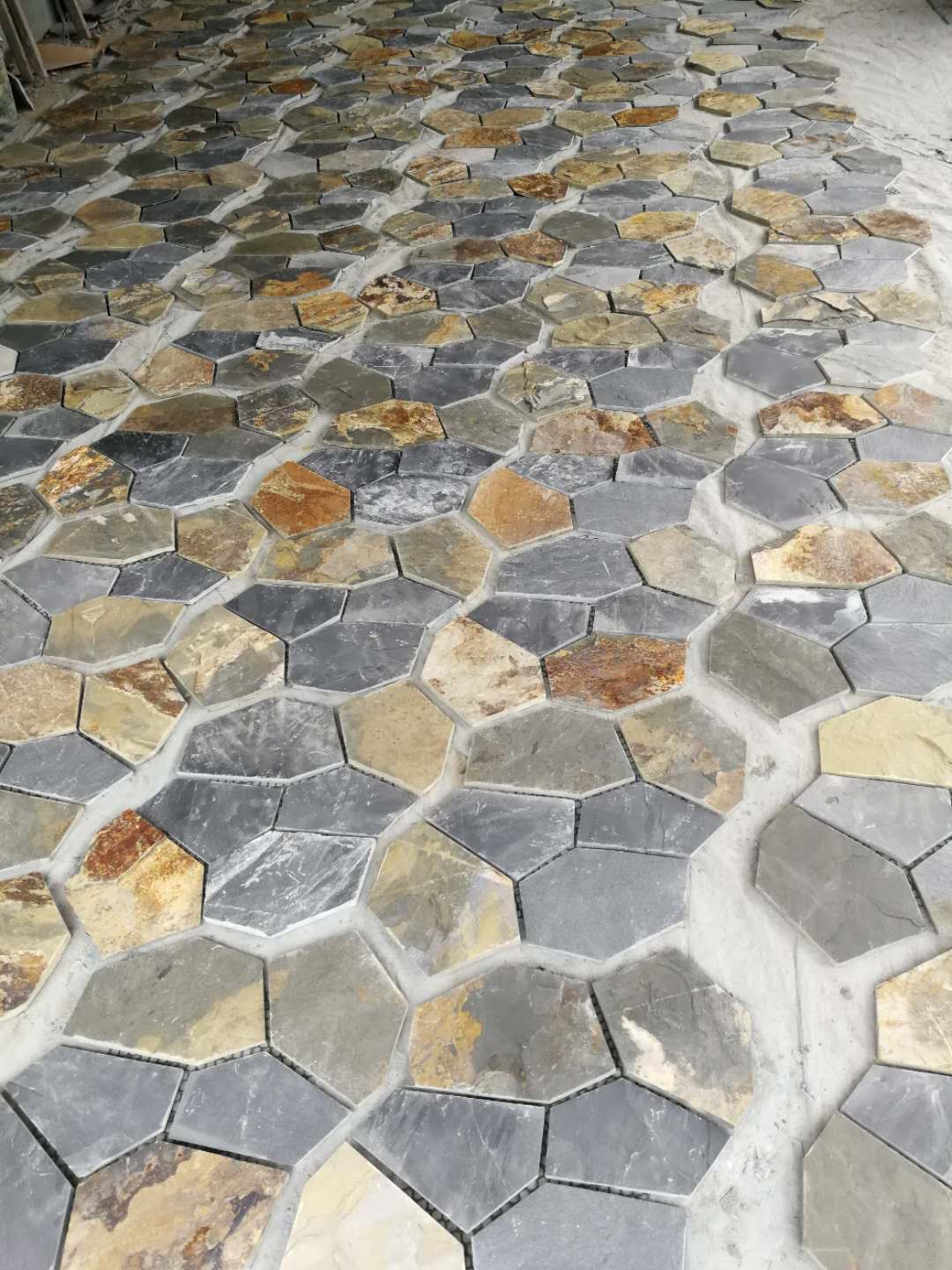 Natural Multicolor Slate Paving Stone