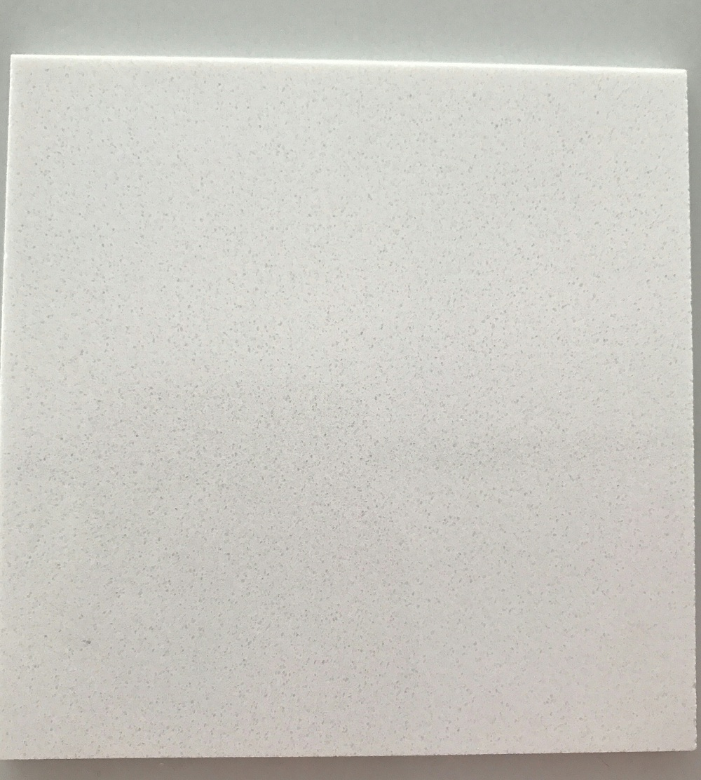 quartz stone big slabs pure white for kitchen countertop high quality