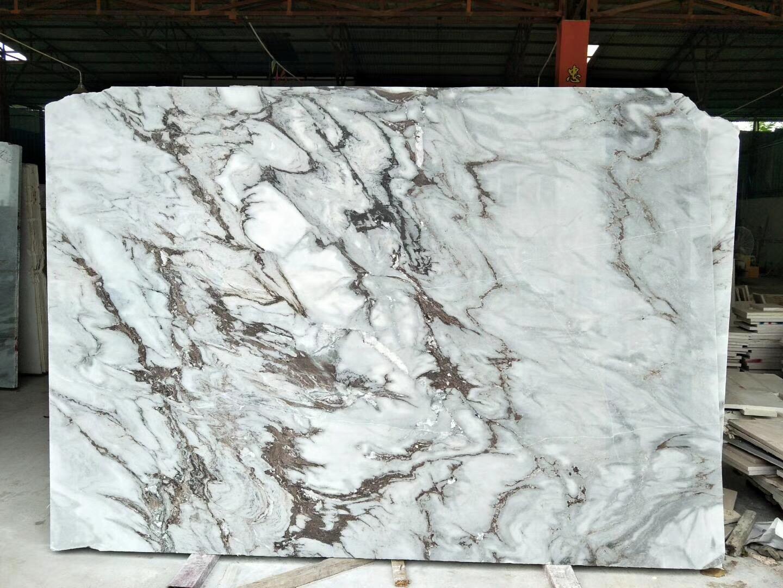 Lanbo Grey Marble Slab