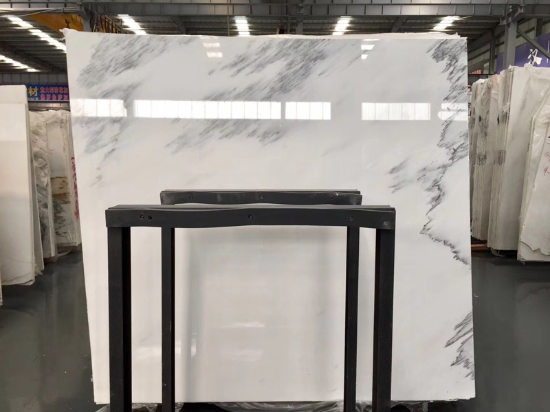 Calacatta Grey Marble Chinese White Marble Slab