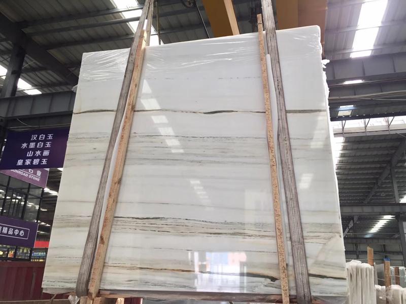 Royal Jasper Marble Slab  White Marble With Beige Vein Slab