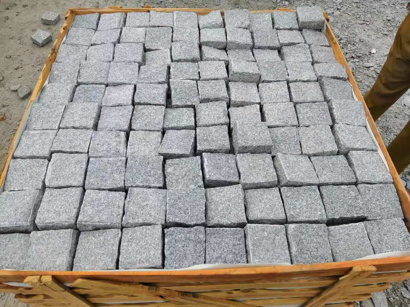 Silver Grey G603 Natural Cobbles