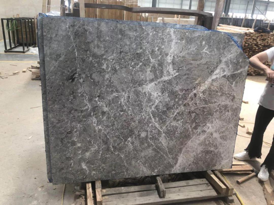 Athena Grey Marble Slabs