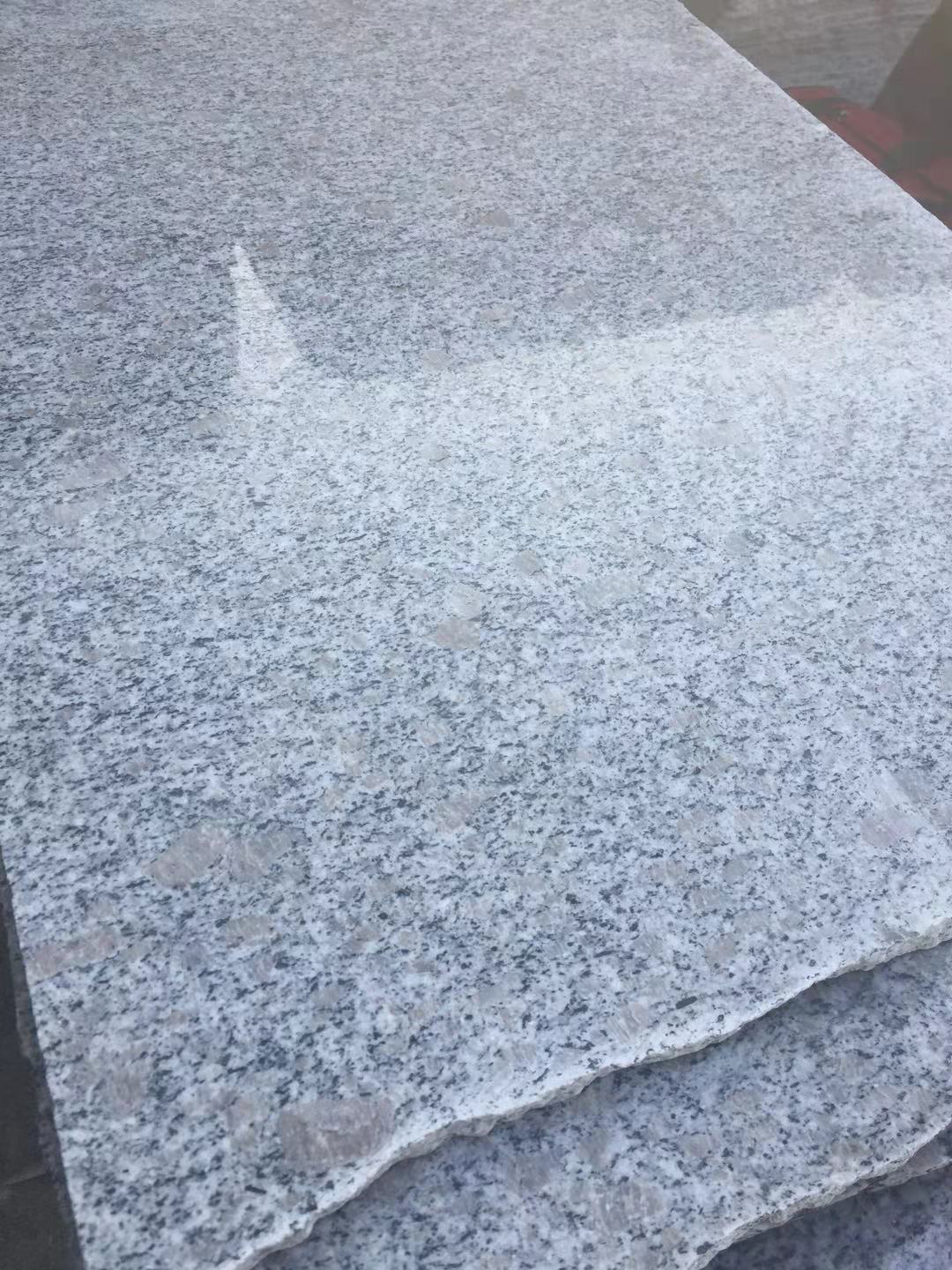 Pearl Gray Flower Granite Slabs