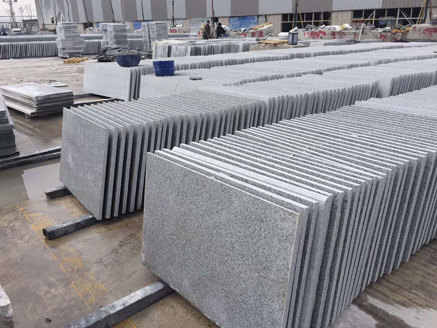 G603 Granite Gray Chinese Grey Granite Tiles