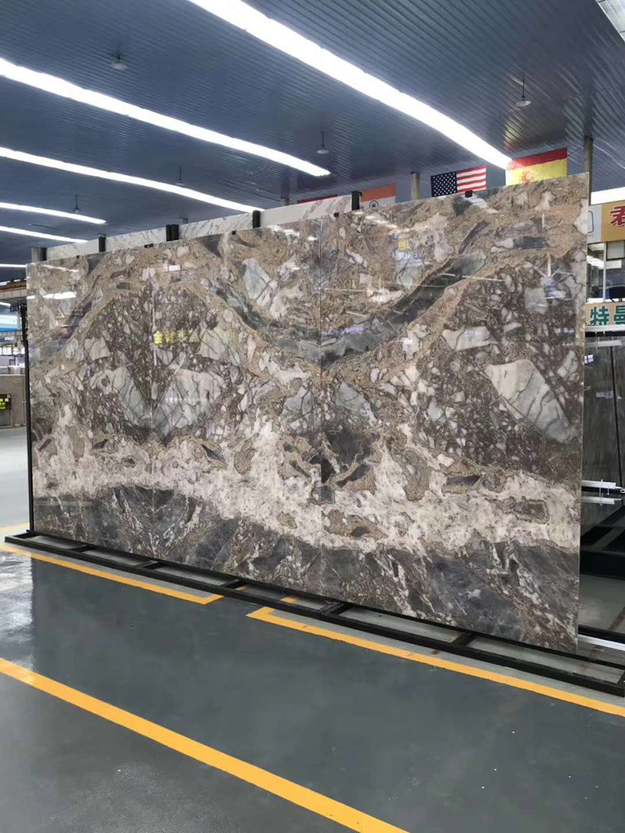 Fish Maw Blue Marble Slabs