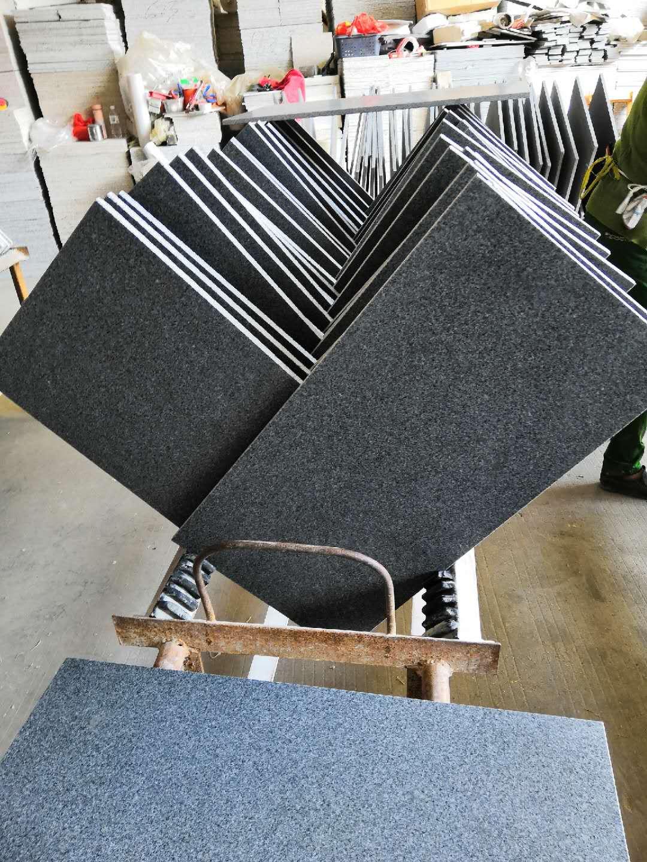 G654 Dark Grey Granite Tile