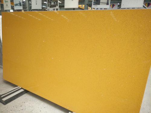 Yellow Quartz Slabs