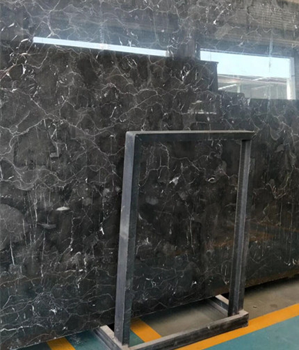 China Dark Emperador Marble Slab