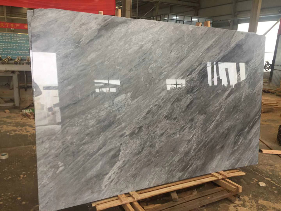 New Silver Dust Marble Polished Slabs from China