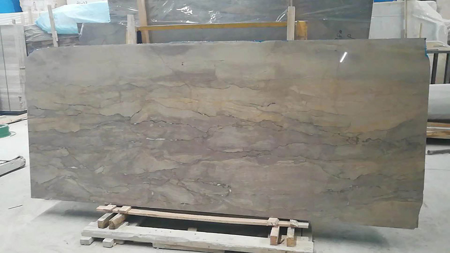 St Paul Gray Marble Polished Slabs