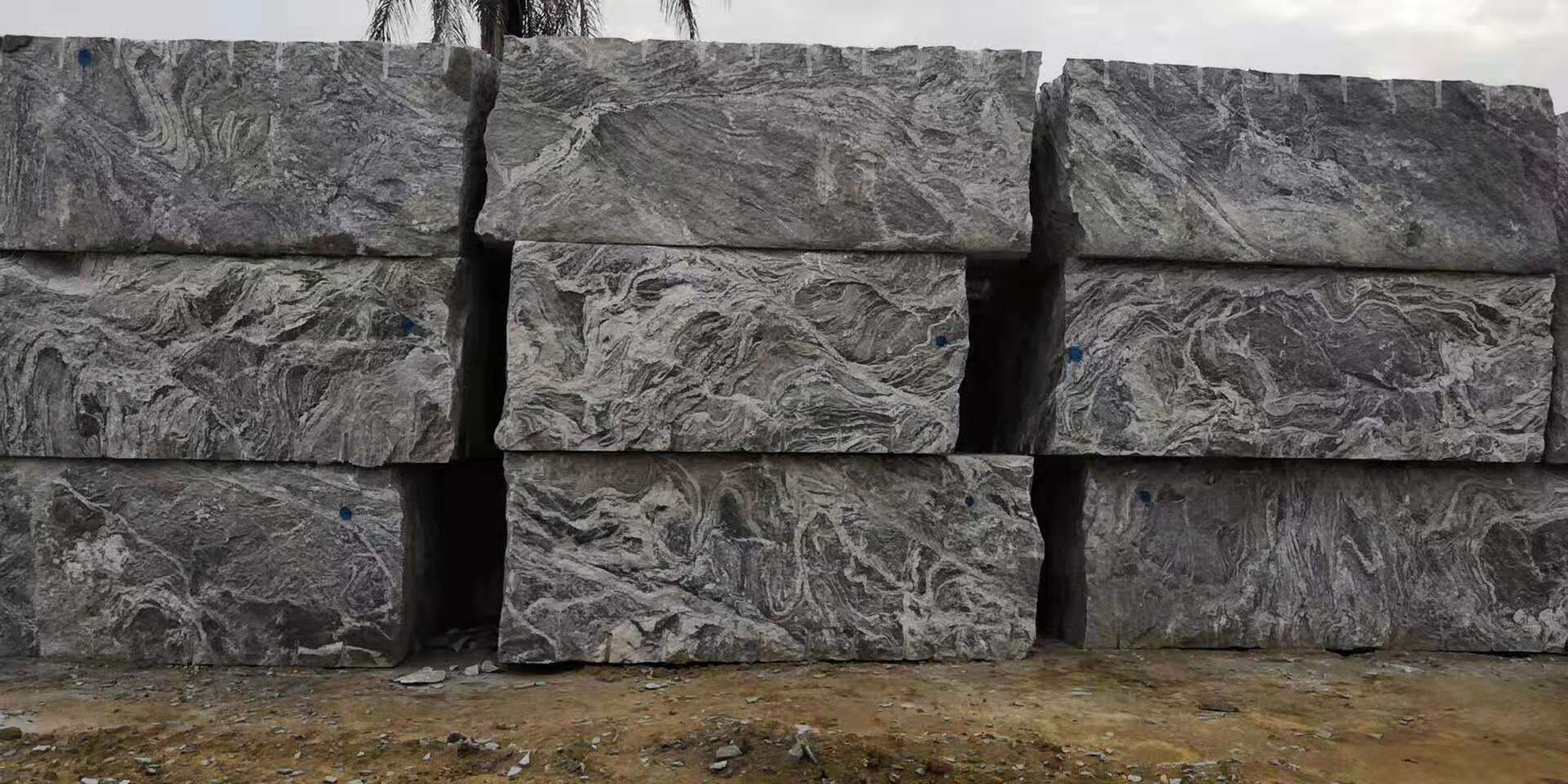 Juparana Granite Blocks from Africa