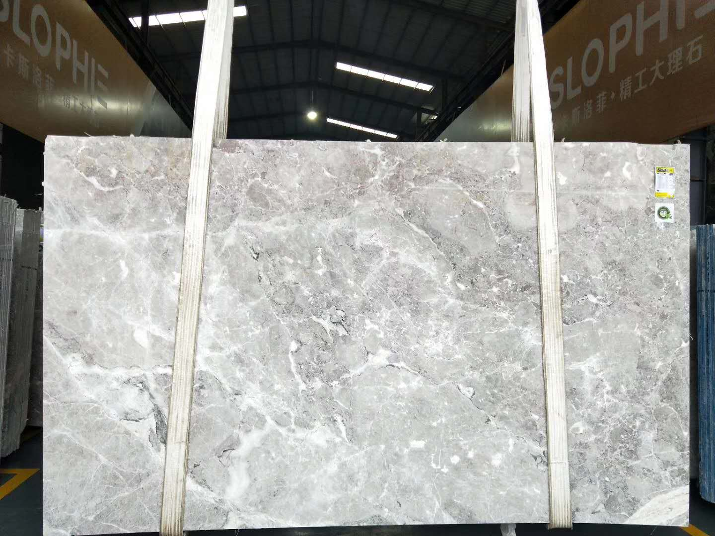 Athena Gray Marble Slabs from China