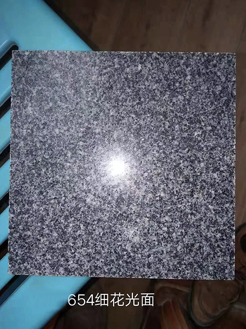 654 Fine Gray Polished Chinese Granite Tiles